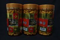 3 x COSTAR STAR COMBO Royal Jelly 1610 mg 365 Capsules - 6% 10-HDA