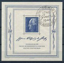 Gebiet SBZ Deutsche Briefmarken der sowjetischen Besatzungszone mit Sonderstempel