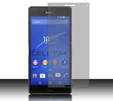 For T-Mobile Sony Xperia Z3 LCD Screen Protector Guard with Cleaning Cloth