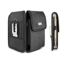 For Samsung Galaxy S20 Ultra Rugged Nylon Belt Clip Case Pouch Fit with OtterBox