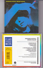 CD MARIANNE FAITHFULL BROKEN ENGLISH 8T MADE IN FRANCE CD ISLAND MASTERS TBE