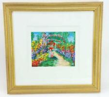 """YUVAL WOLFSON """"MOTHER AND CHILD"""" LIMITED EDITION SERIGRAPH W/ PARK WEST COA"""