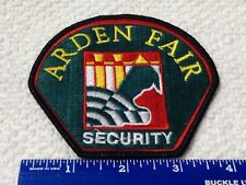 Arden Fair Private Security Patch Green Yellow Red White
