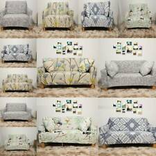 1/2/3 Seater Couch Protector Slipcover Elastic Sofa Covers Settee Stretch Floral