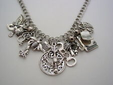 Claudia Funky Chunky Charm Necklace Warehouse 13 Artifact Necklace
