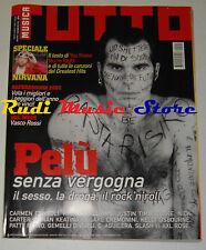 Rivista TUTTO MUSICA 12/2002 Pelu' Nirvana Patty Pravo Cremonini Consoli * NOcd