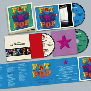 PAUL WELLER FAT POP DELUXE 3 CD (Released May 14th 2021)