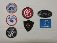 patch ecusson  airbus sncf air france dassault aviation