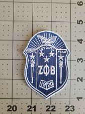 "Zeta Phi Beta Sorority Crest Patch 3.5"" Brand New"