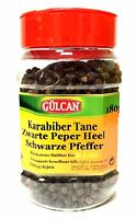 Schwarzer Pfeffer ganze Körner Gewürze - Kara Biber Tane 180 g
