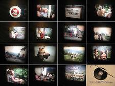 8 mm Film-Privatfilm 1964-Wirtschaftswunder Zeit-Firma Freizeit-Old private film