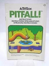 Anleitung - Handbuch - Bedienungsanleitung Atari - Pitfall !