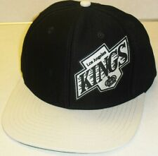 879324c22b1724 LOS ANGELES KINGS Snapback hat -SHIELD LOGO (New!) Made by Vintage Hockey