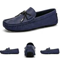 Men's Flats Pumps Loafers Shoes Driving Moccasin Breathable Soft Slip on Casual