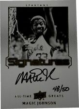 Magic Johnson Signed Autographed 2012/2013 All Time Greats Card #ATG-JO4 48/50