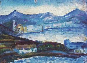 """Cadaques (1917) by Salvador Dali Impressionism- 17"""" x 22"""" Fine Art Print - 00978"""