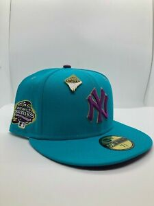 New York Yankees CapsuleRoos Collection 100th Anniversary Fitted Hat Size 7 5/8