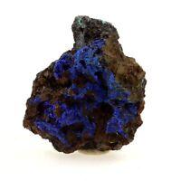 Azurite + Malachite. 20.94 ct. Col du Barioz, Isère, France. Rare