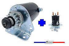 Anlasser mit Magnetschalter für Briggs & Stratton mit 14 Zahn Stahlritzel