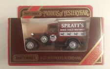 matchbox models of yesteryear Y-22 1930 model A ford van Spratts