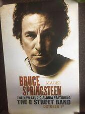 Bruce Springsteen-Magic-rare Original Promo Poster Unused 2007