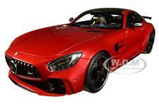 MERCEDES AMG GT R AMG DESIGNO CARDINAL RED METALLIC 1/18 CAR BY AUTOART 76331