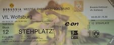 TICKET BL 2002/03 BVB 09 Borussia Dortmund - VfL Wolfsburg