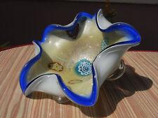 Wunderschöne Murano Glas Schale Barovier & Toso Millefiori Design glass bowl