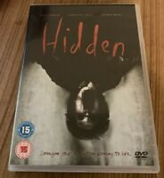 Hidden DVD (2011) Sean Clement, Thomas (DIR) Cert 15 Free Delivery, Save ££ss
