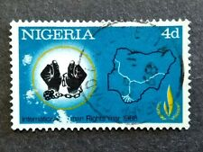 Nigeria 1968 International Human Rights Year  4d - 1v Used