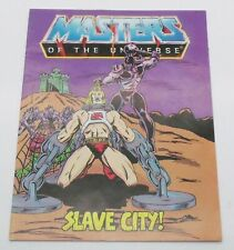 Masters Of The Universe He-Man Slave City ! Mini Comic