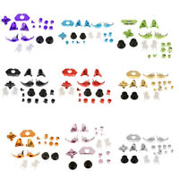 Set of 18 Replacement Controller Buttons Kit Set for Microsoft Xbox One Silver