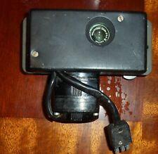Vintage (Arial?) film camera, w/wollensak 35mm f3.5 Lens. KCI-22RC Motor. VGC