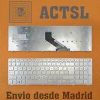 Teclado Español para portátil Packard Bell Easynote TS44HR LS44HR TV44HC P5SW0