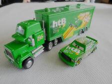 Disney Pixar Cars Chick Hicks Hauler Truck & NO.86 Metal Toy Car New Loose