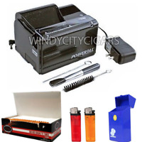Poweroll BUNDLE Top-o-matic Cigarette Rolling Machine Kings Size Only Wholesale