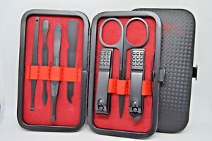 7 Pcs Manicure Pedicure Set Stainless Steel Nail Clipper Grooming Kit New Tool