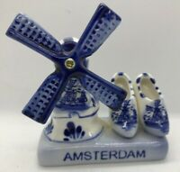 dutch vintage holland windmill shoes amsterdam holland clogs collectible bd