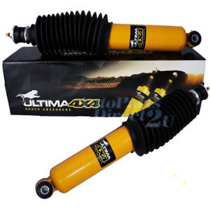 Holden Colorado Ultima Front Gas Shock Absorbers Pair RC 2008-2012