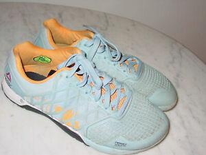 Mens Reebok Crossfit Nano 4.0 M47670 Denim Glow Cross Training Shoes! Size 8.5