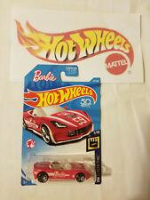 2018 Hot Wheels 50th Ann. HW Screen Time '14 Corvette Stingray Barbie Pink Car