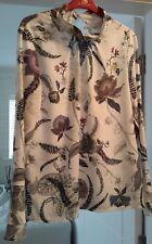 Ladies Next Floral Blouse Top Size 10 vgc