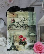 """Vintage """"Paris Paris..."""" ~ Shabby Chic Country Cottage style ~ Wall Decor Sign"""