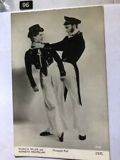 More details for patricia miller, kenneth macmillan - pineapple poll, 1951 ballet rppc photo