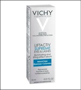 Vichy LiftActiv Supreme Eyes & Lashes Illuminating and Lifting Serum 0.51oz