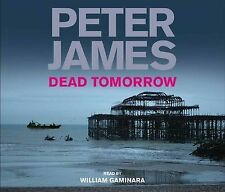 BRAND NEW,DEAD TOMMORROW BY PETER JAMES 4 X CD ABRIDGED AUDIOBOOK