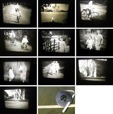 Super-Normal 8mm Privatfilm von 1961-Riddagshausen-Fahrradurlaub-Kindheit