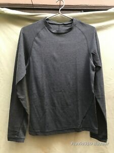 Authentic ADIDAS ClimaLite Long Sleeve Gray Shirt Size S Small