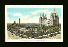The Mormon Temple and Tabernacle - Salt Lake City, Utah - Union Pacific Railroad