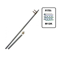 Nature House MPQ Telescoping Pole With Locking Clamps - MADE IN USA